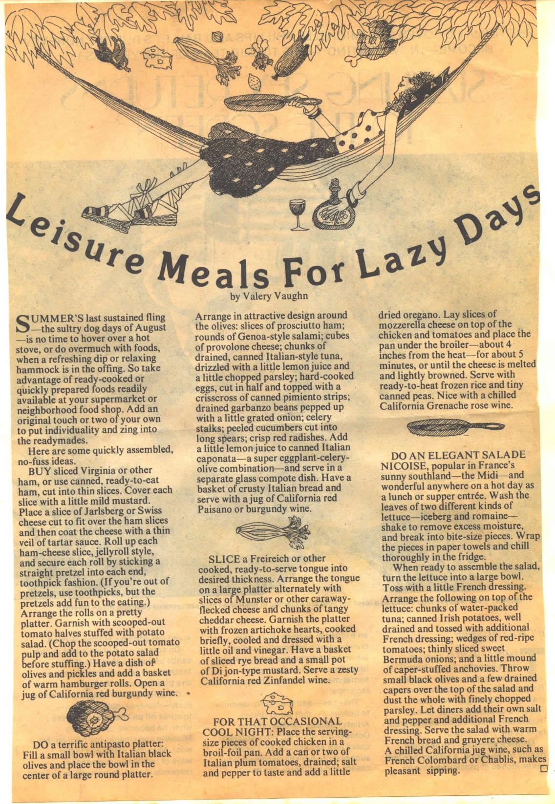 leisure-meals-for-lazy-days